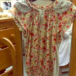 Anthologie short sleeve blouse
